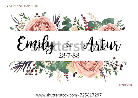 stock-vector-wedding-invite-invitation-save-the-date-card-floral-watercolor-style-design-lavender-antique-pink