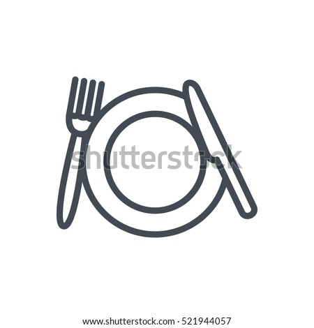 Wedding Line Outlined Icon Vector Plate