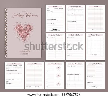 free wedding planner vector download free vector art stock