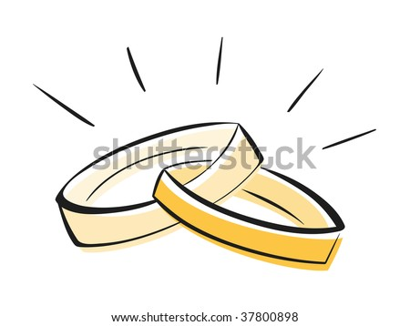 stock vector Wedding Rings