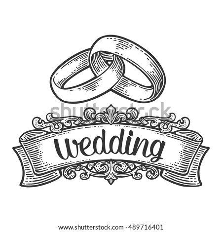 wedding rings with lettering....