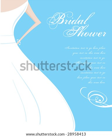 Wedding Shower Invitation panel