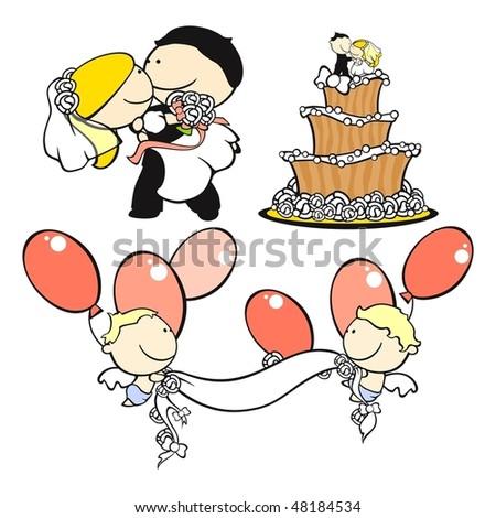 Wedding theme set