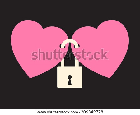 wedlock   two hearts locked