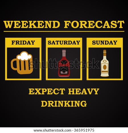 weekend forecast   funny