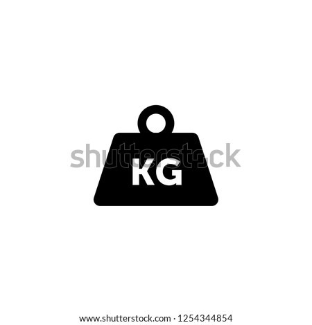 weight tool icon vector. weight tool vector graphic illustration