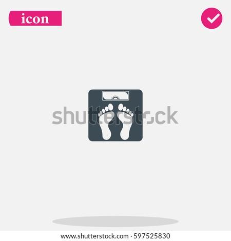 weighting icon weight watchers