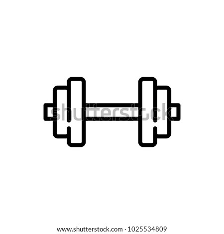 weights vector icon