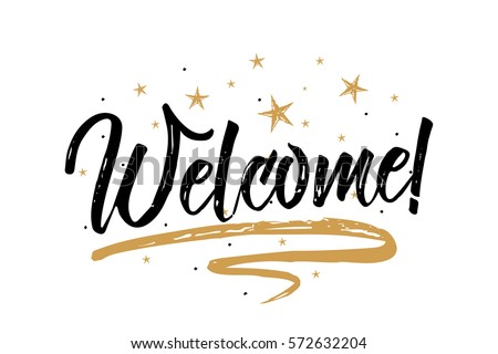 welcome card  bannerbeautiful