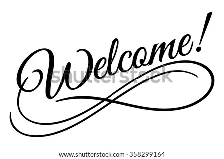 welcome sign. vector...