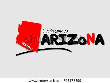 Welcome to Arizona, Vector Design