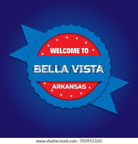 welcome to bella vista badge