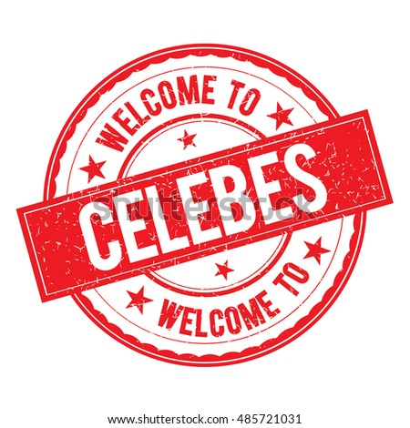 welcome to celebes  stamp icon