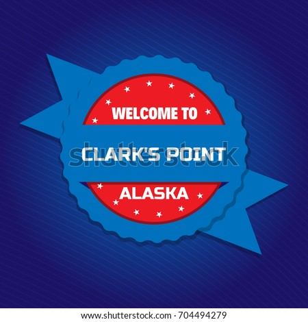 welcome to clarks point badge
