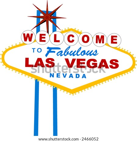 Sign vector for the city of las vegas welcome to fabulous las vegas vector series pronofoot35fo Choice Image