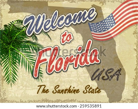 welcome to florida retro