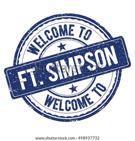 welcome to ft simpson stamp