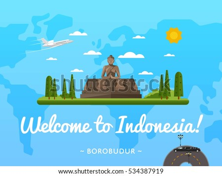 welcome to indonesia poster