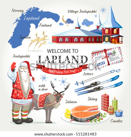 welcome to lapland santa