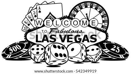 sign vector for the city of las vegas rh vecteezy com las vegas clipart sign las vegas clipart free