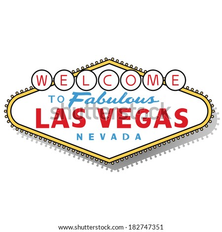 Vector Images, Illustrations and Cliparts: Welcome to Las Vegas sign ...