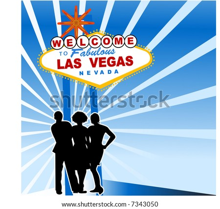 welcome to las vegas sign vector. stock vector : welcome to las
