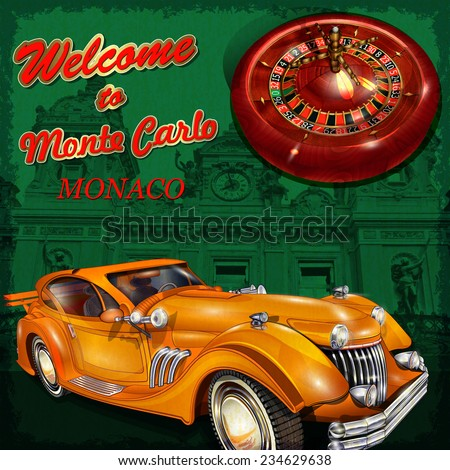 welcome to monte carlo retro