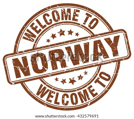 welcome to norway stampnorway