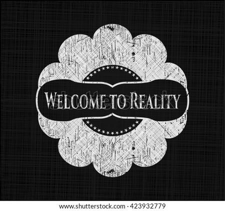 Welcome to Reality on blackboard