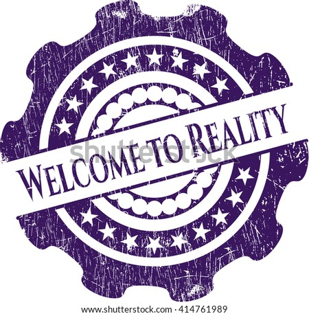 Welcome to Reality rubber seal