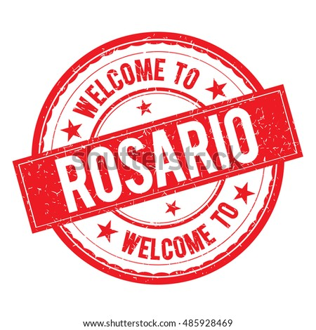 welcome to rosario stamp icon