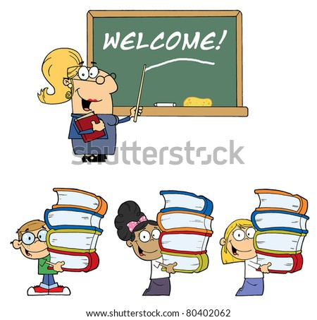 Welcome To School-Vector Collection