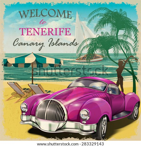 welcome to tenerife retro...