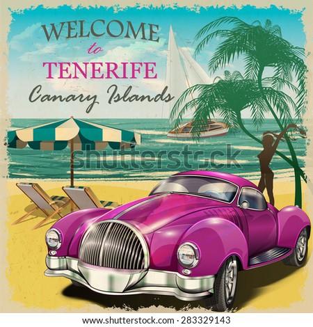 welcome to tenerife retro...