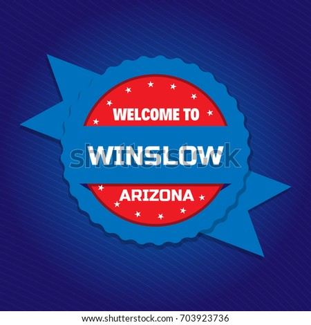 welcome to winslow badge