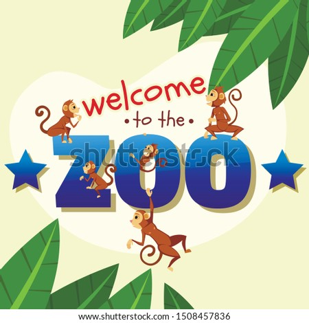 welcome to zoo banner  funny