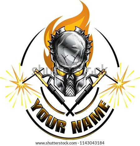 Welders Vector Logo Sticker
