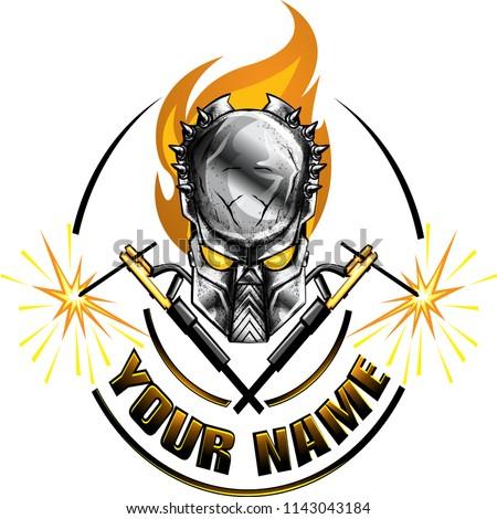Welders Vector Logo Sticker