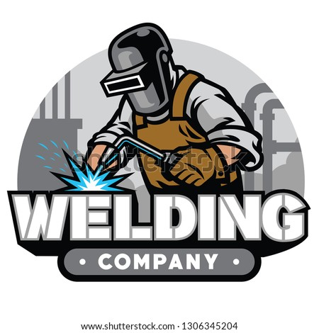 welding company badge