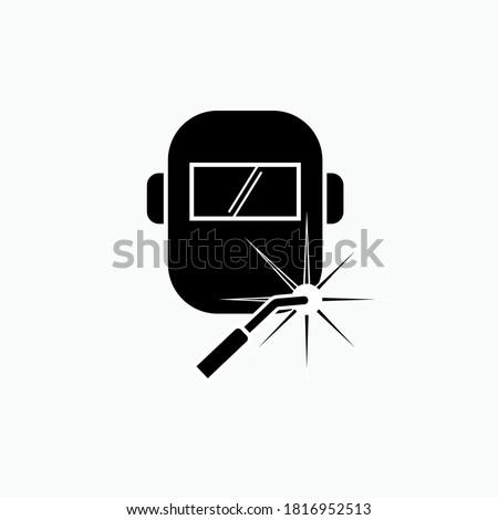 Welding Icon. Welder Profession Symbol - Vector Logo Template. Photo stock ©