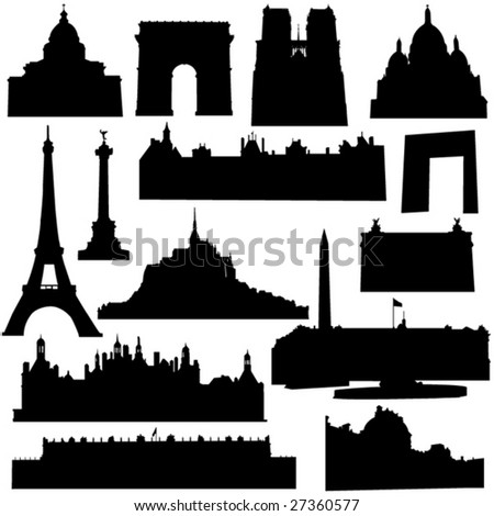 well known french architecture