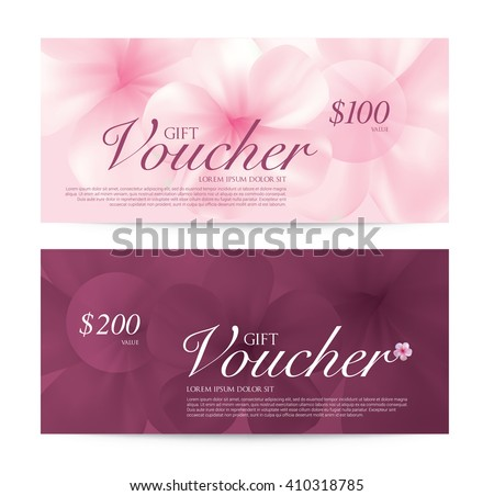 Summer gift vouchers download free vector art stock graphics wellness spa yoga banner template gift voucher vector illustration yadclub Images