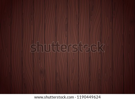 Wenge wood vector texture. Grained planks background #1190449624