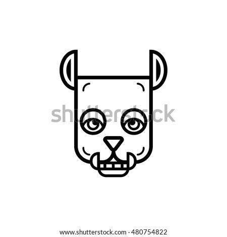 werewolf icon symbol logo