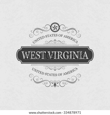 west virginia  usa state...