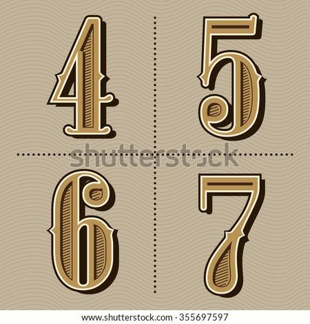 western alphabet letters