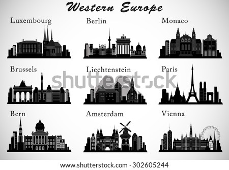 western europe cities skylines