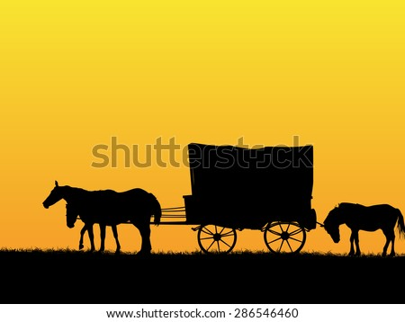 western stage coach wagon and...