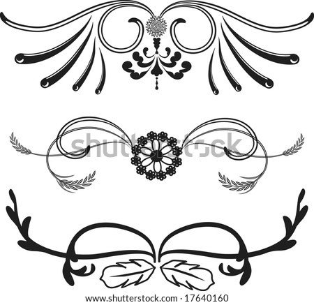 Western Themed Borders, One Color. Stock Vector 17640160 ...