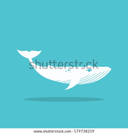 whale icon logo for web